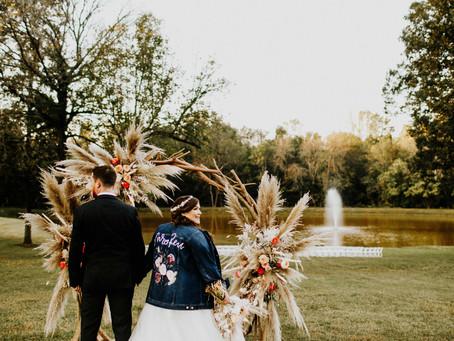 The Romantic Boho Wedding