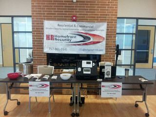 HR Home Front Security at OCB Natural Bodyz Beach Classic Show