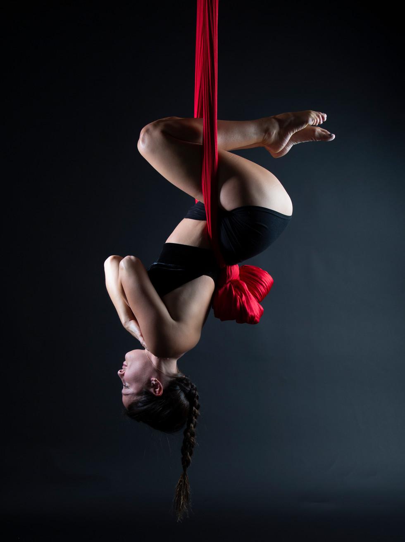 Aerial Silk Photography
