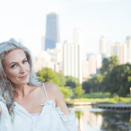 Portrait in the park