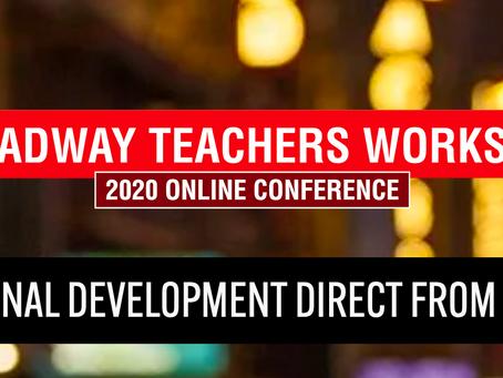 Broadway Teachers Workshop: Day 5