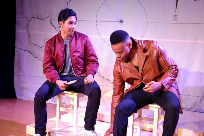 Carlos Quiapo and Chris Levens