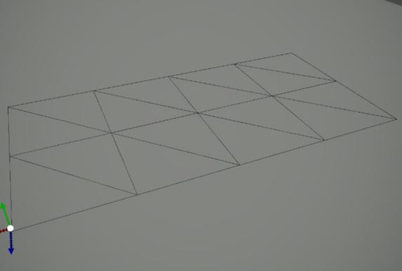 No tesselation