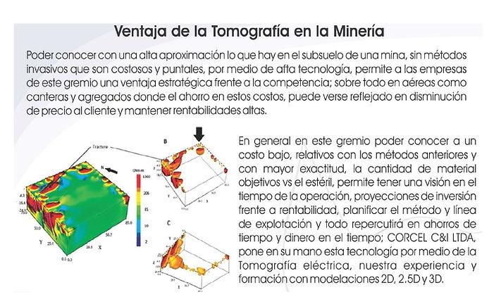 Tomografia en mineria