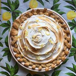 Mile High Lemon Pie