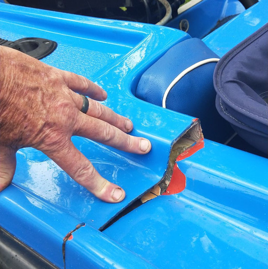 Jetski Body Repairs, Gold Coast