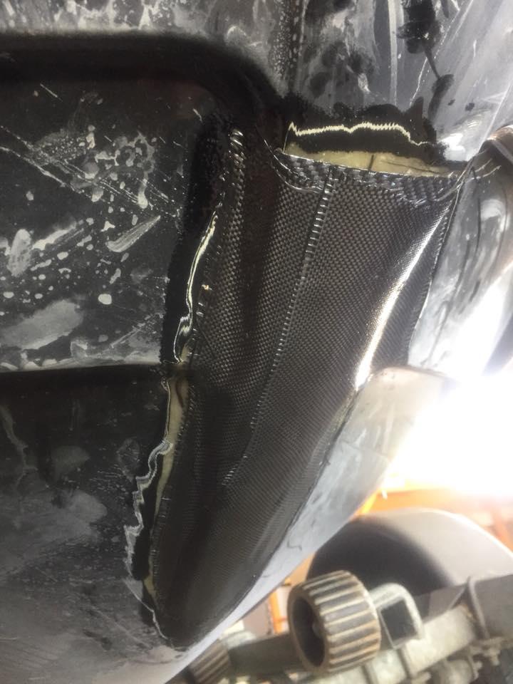 jet ski fibreglass repair