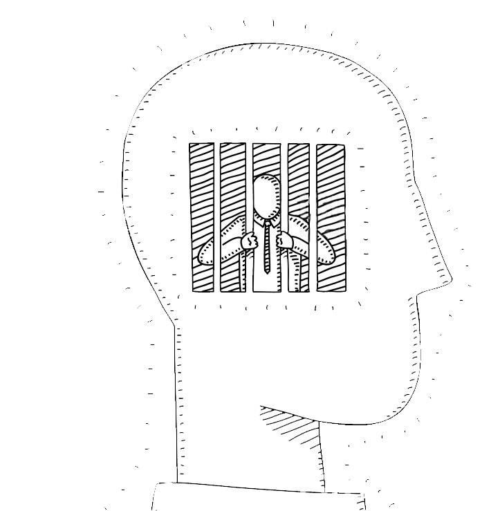 Prisión dentro de uno mismo