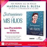 Presentacion Instrucciones a mis hijos deGuadalajara.jpgMagdalena Sánchez Blesa