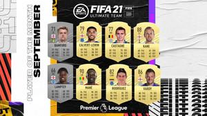 FIFA 21 : Les nominés pour le POTM de Premier League de septembre