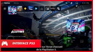 PS5: L'interface a été dévoilée (Vidéo)