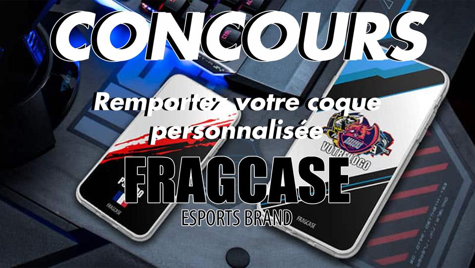 Concours : Remportez une coque personnalisée Fragcase