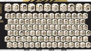 FIFA 21 : Toutes les icônes et leurs notes