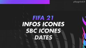 FIFA 21 : Retour des SBC Icônes, Icônes Swap + dates de sortie