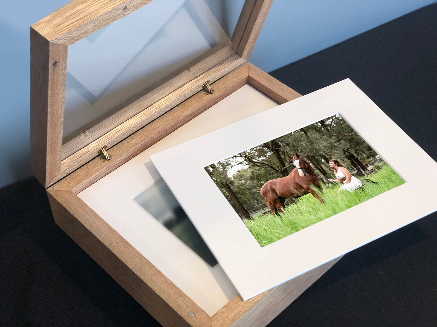 Timber Deconstructed Album and Art Mounts
