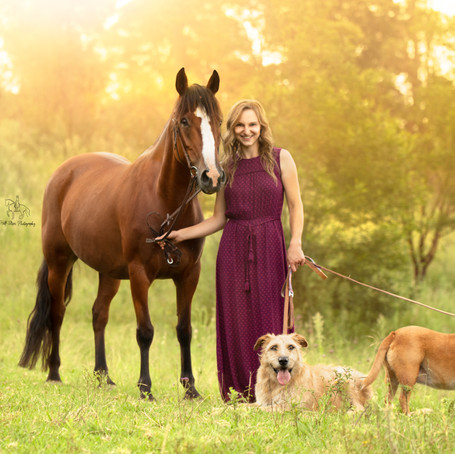 Nathalie & Rhapsody with Lexy & Bullet