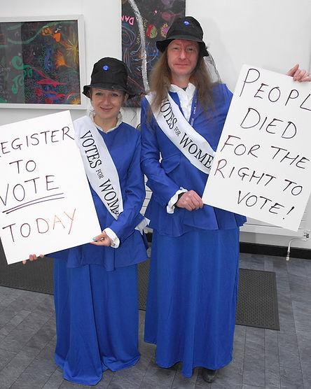 Voter Registration team