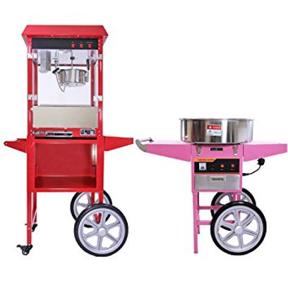 Hire our Popcorn & Candyfloss machine