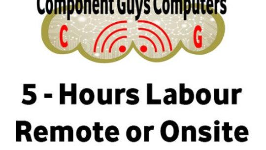 5 Hours Labour