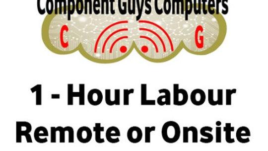 1 Hour Labour