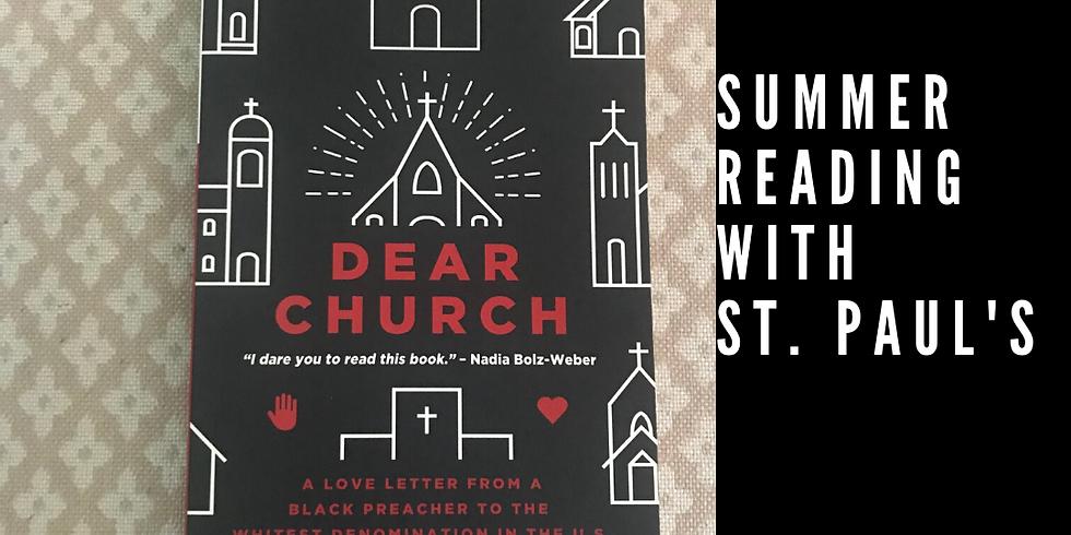 "Summer Reading: ""Dear Church"""