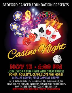 Casino Night 2019 Flyer