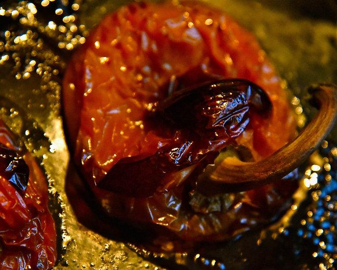 Poivron rouge et or