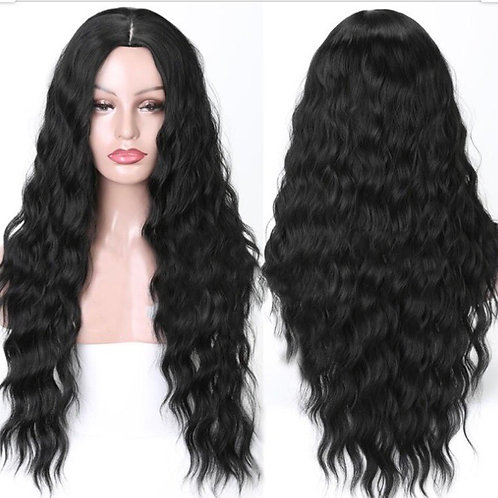 Long Water Wavy Synthetic Wig