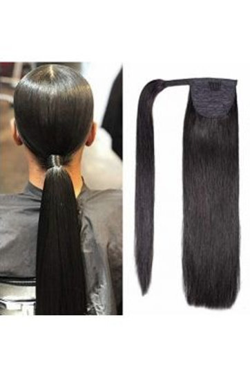 Straight Mink Hair Ponytail