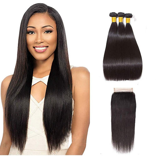 Silky Brazilian Straight Bundles