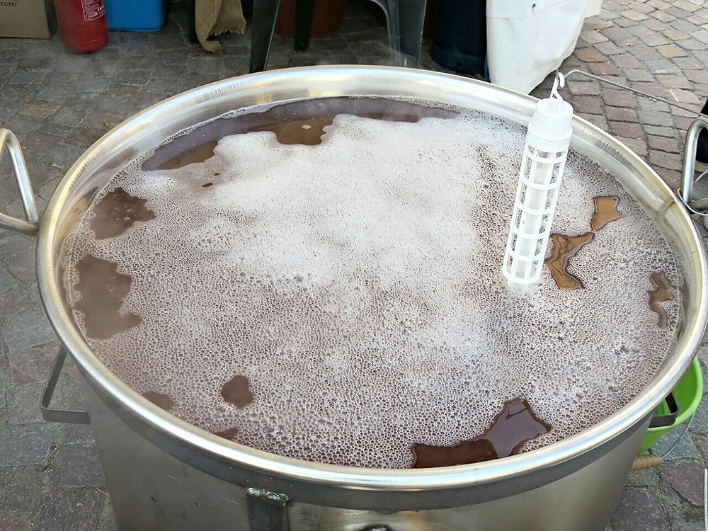 Boiling of Grape Must