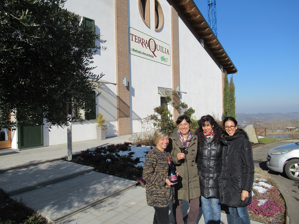 A good glass of wine on Modena hills