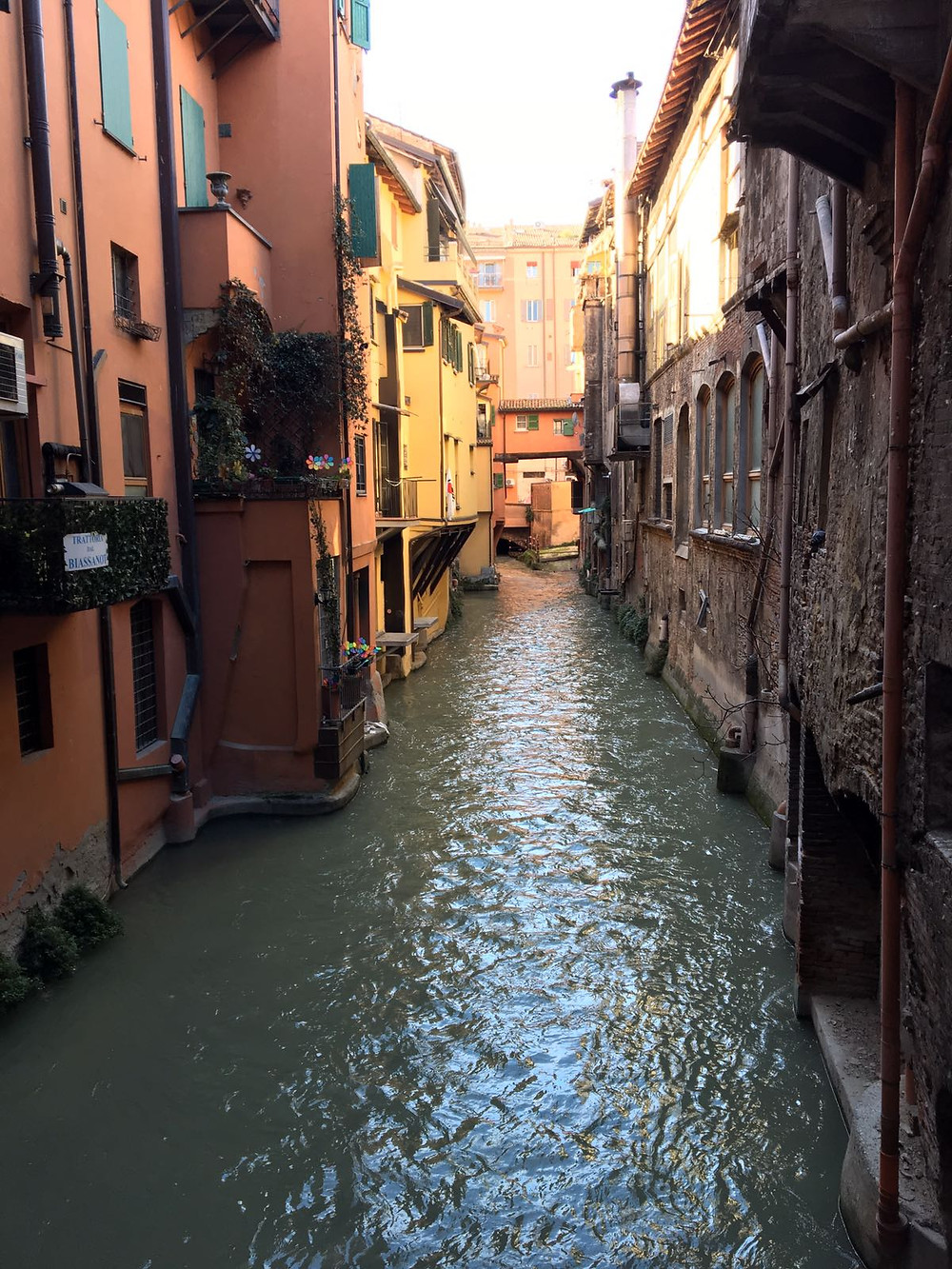 Bologna waters and canals