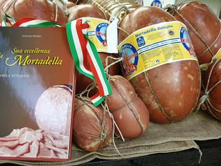 The traditional Mortadella of Bologna