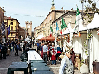 The festival of the Traditional Balsamic Vinegar of Modena.