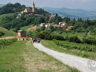 Hiking into the foothills of Modena