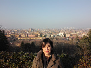 A sunny day on the hills of Bologna