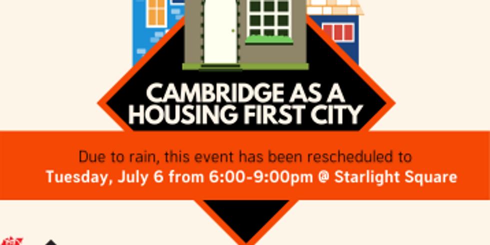 Cambridge As A Housing First City