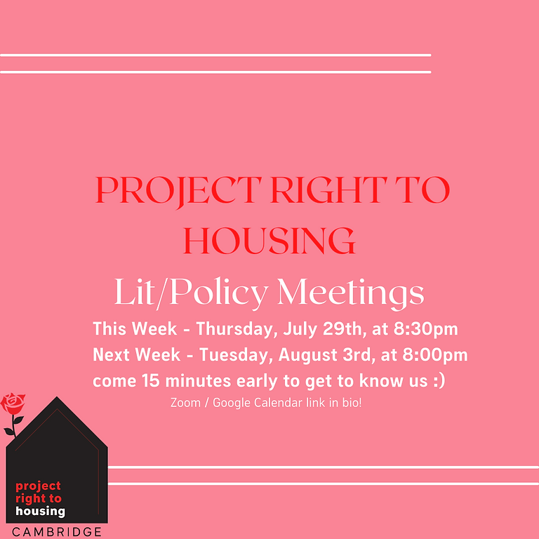 Lit / Policy Meeting