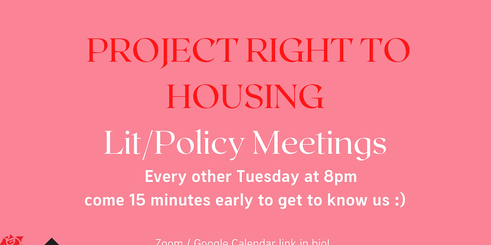 Lit / Policy Biweekly Meeting