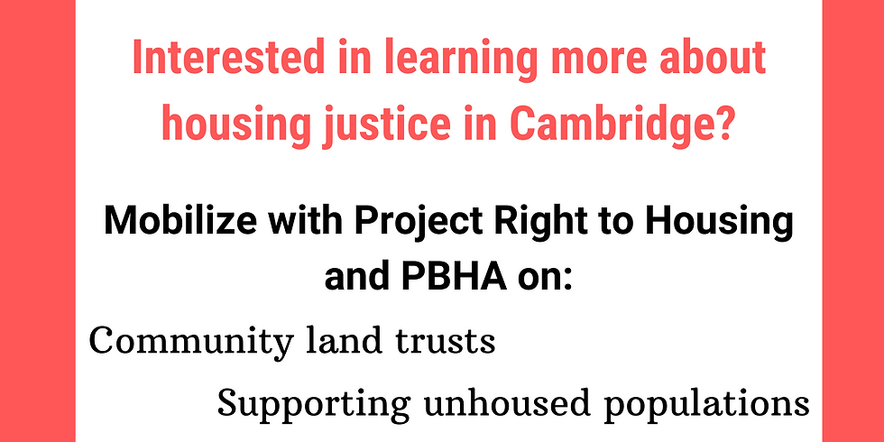 Housing Awareness Week: Fight for Justice