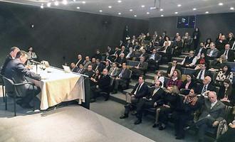 """""""Receptividade dos argentinos mostra que vamos ampliar muito nossa parceria"""", afirma Marconi"""
