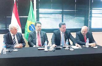 No Paraguai: Imprensa questiona Marconi  sobre candidatura à Presidência