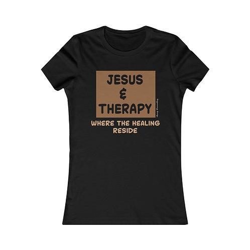 Jesus & Therapy Healing Tee