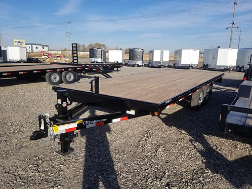 C&B 8.5x20 Deck Over Trailer