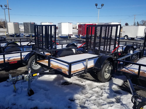 Diamond Quality 5x8 Utility Trailer