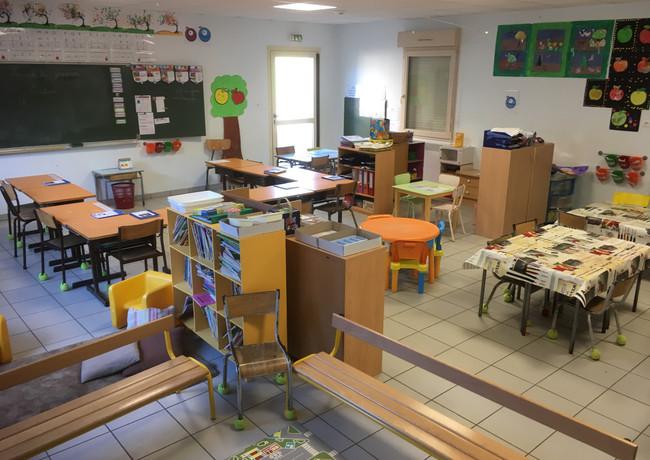 Classe de Me Laura Bruneau Jagline - PS, MS, GS, CP et CE1