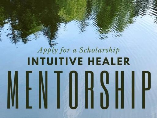 Scholarship | Intuitive Healer Mentorship