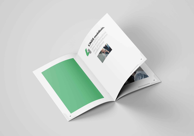 Intérieur du rapport d'activité 2020