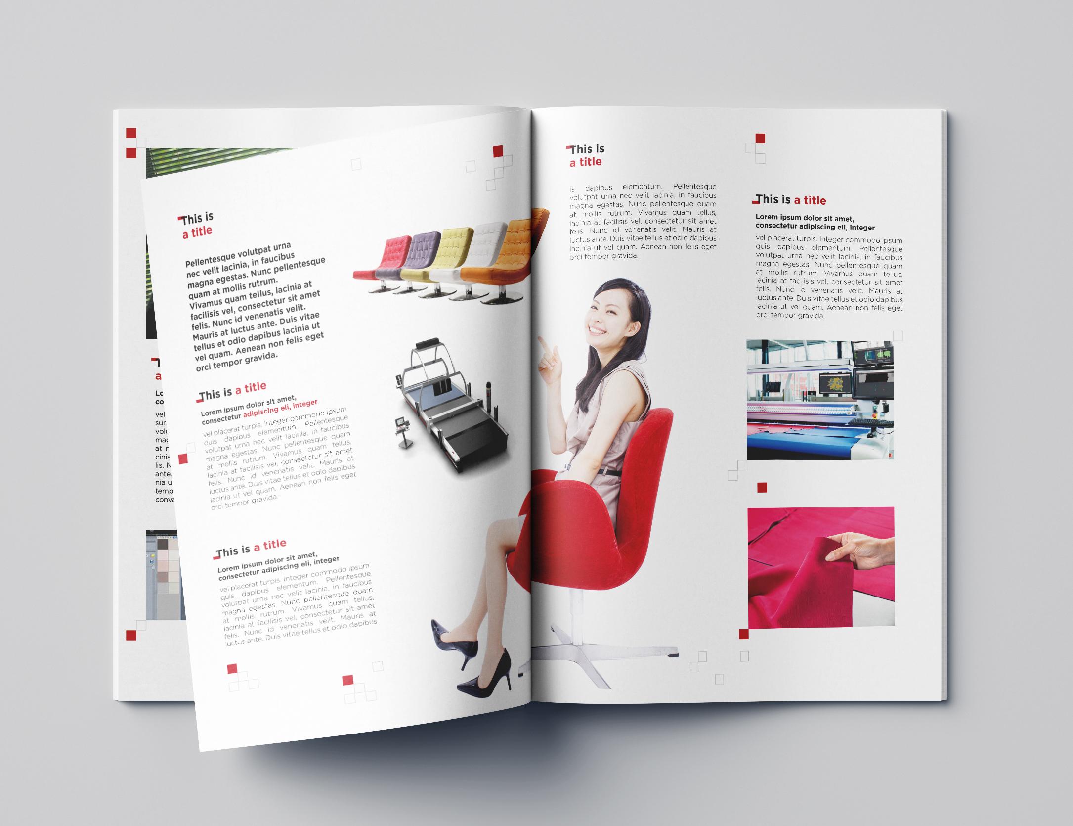 Intérieur Brochures